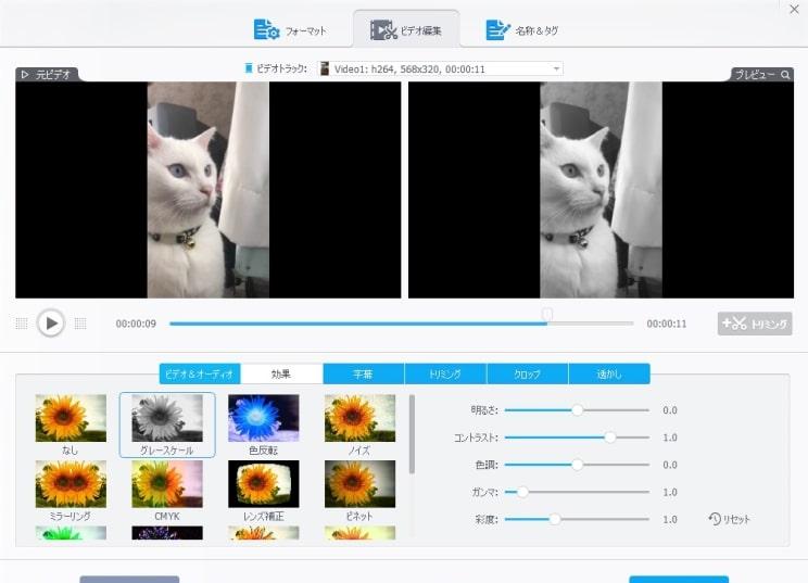 VideoProc 編集